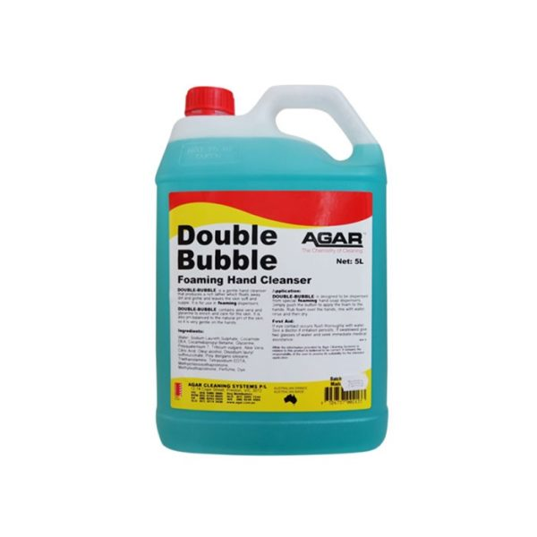 Agar Double Bubble Foaming Soap L
