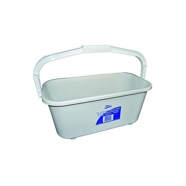 Edco All Purpose  Litre White Bucket