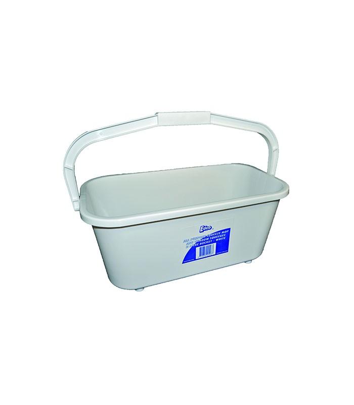 Edco All Purpose  Litre White Bucket