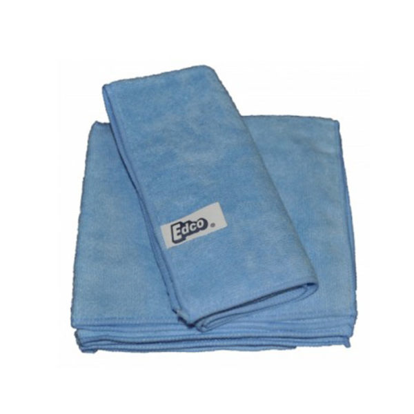 Edco Microfibre Cloth  Pack Blue