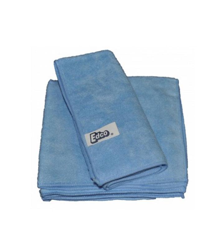 Edco Microfibre Cloth Pack Blue