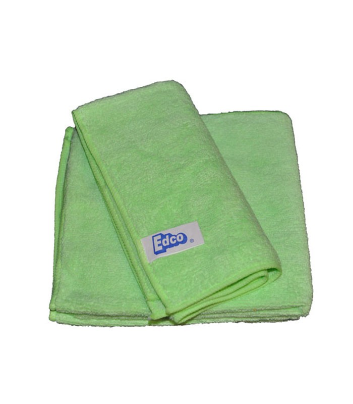 Edco Microfibre Cloth  Pack Green