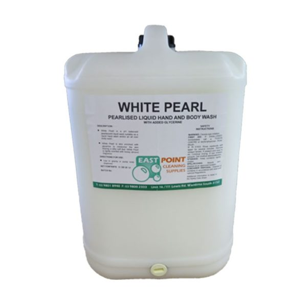 Epcs Hand Body Liquid Soap White Pearl