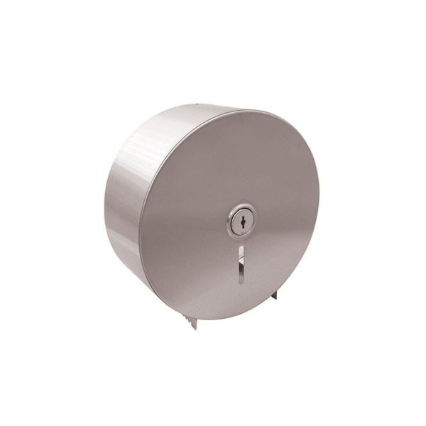 Jumbo Toilet Roll Stainless Steel Dispenser