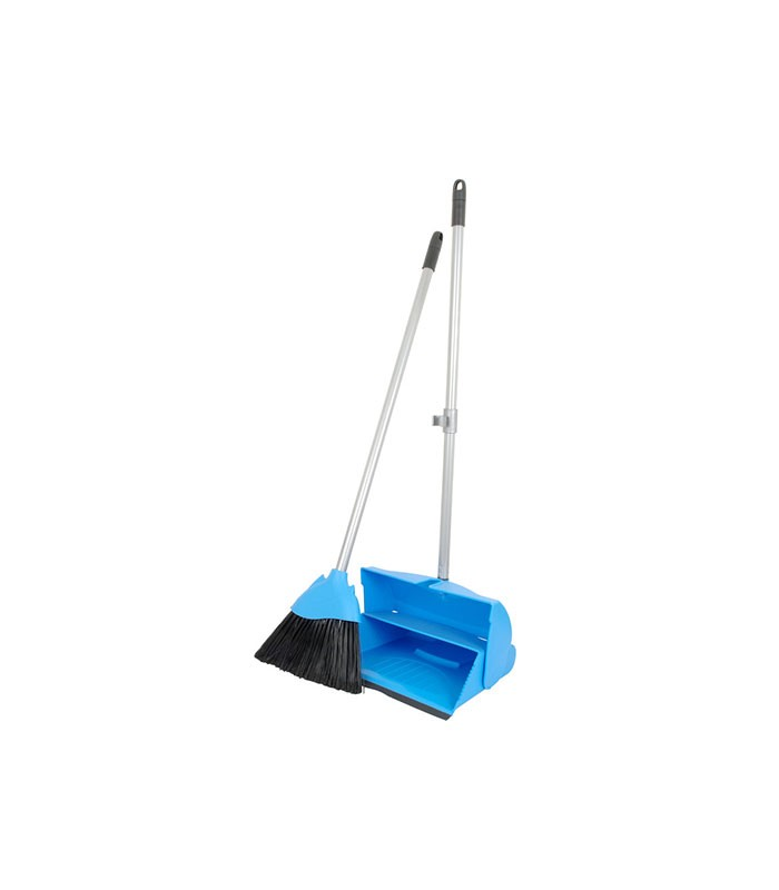 Lobby Dustpan Set Blue