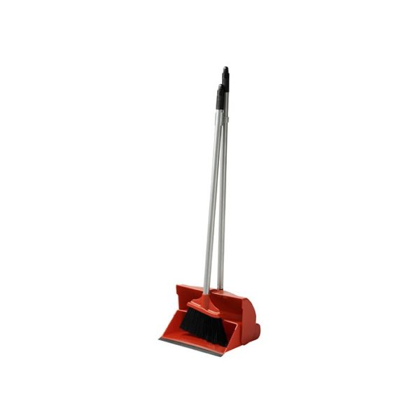 Lobby Dustpan Set Red