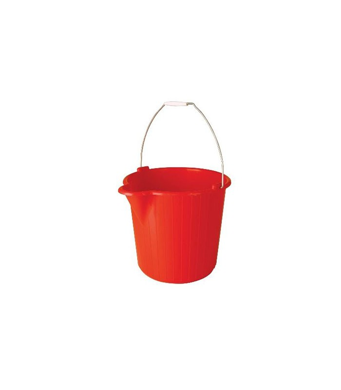 Oates L Duraclean Super Bucket Red
