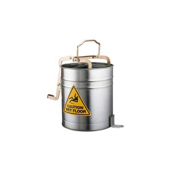 Oates L Metal Wringer Bucket With Castors