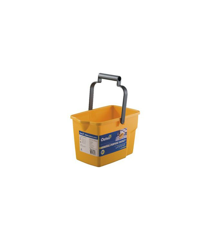 Oates L General Purpose Bucket Yellow