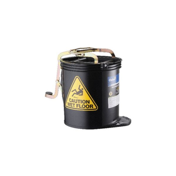 Oates Contractor Mop Bucket Black With Castors