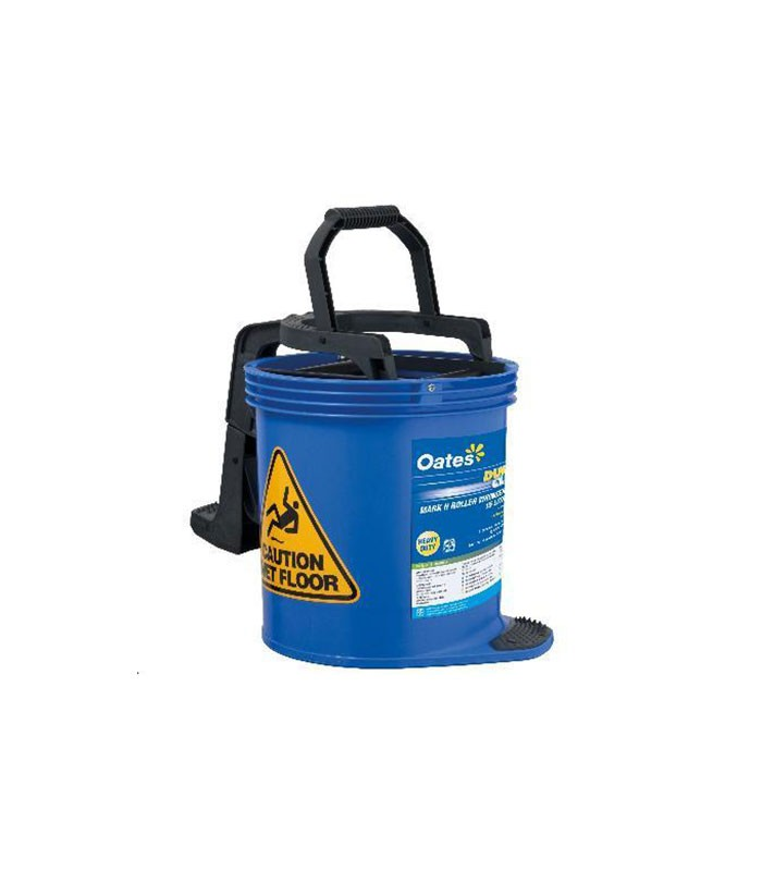 Oates Contractor Mop Bucket Blue With Castors