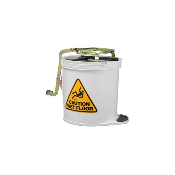 Oates Contractor Mop Bucket White With Castors