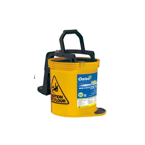 Oates Contractor Mop Bucket Yellow With Castors