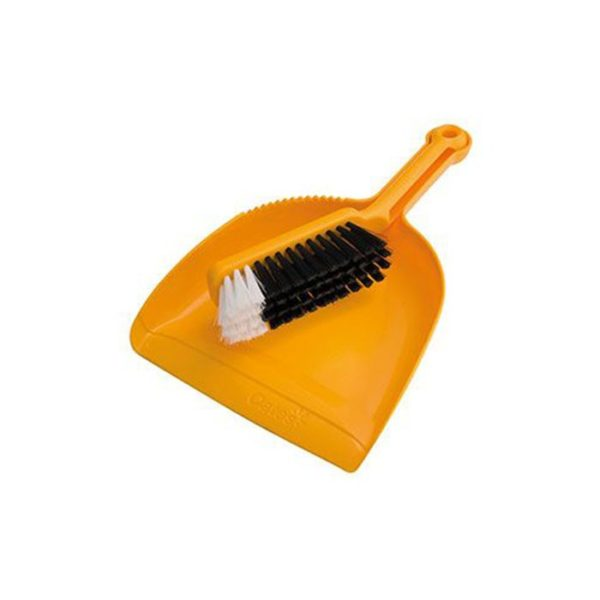 Oates Dustpan Set Yellow