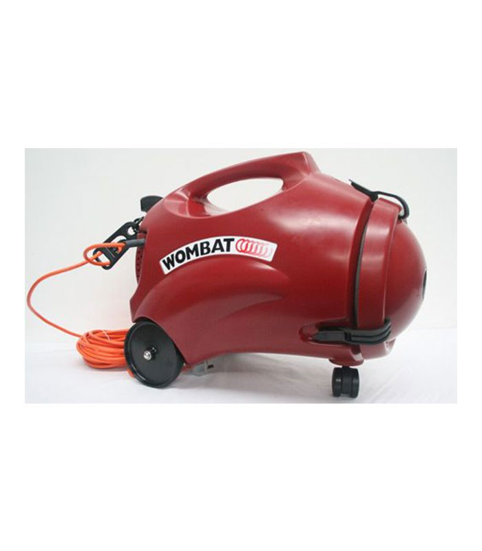 Polivac Wombat Dry Vacuum Cleaner Red