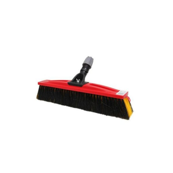 Sabco Mm Smooth Rough Broom Red Head Only