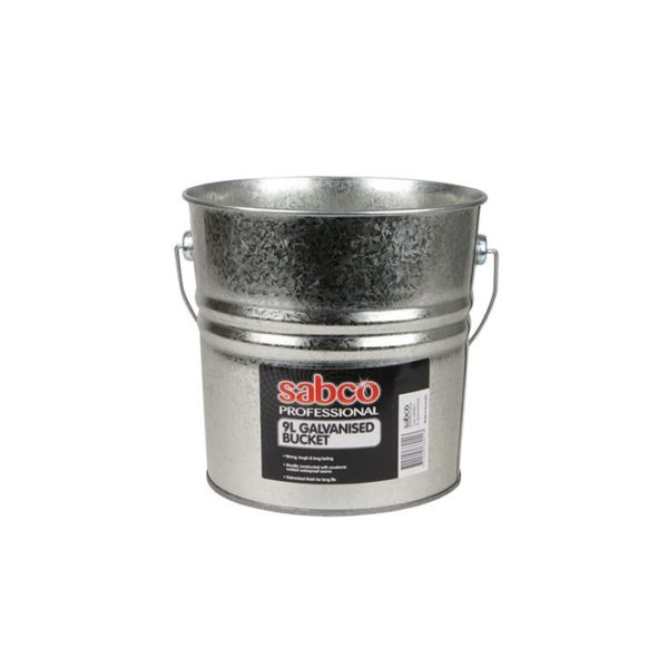 Sabco L Galvanised Bucket