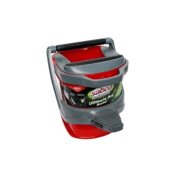 Sabco Ultimate Pro Bucket Red