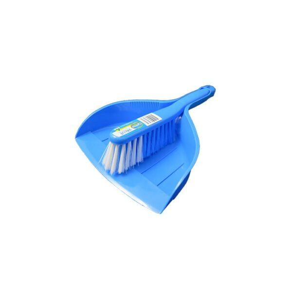 Value Dustpan Set Blue