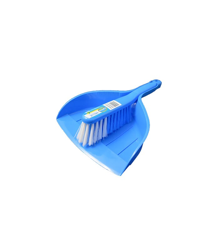 Value Dustpan Set Blue