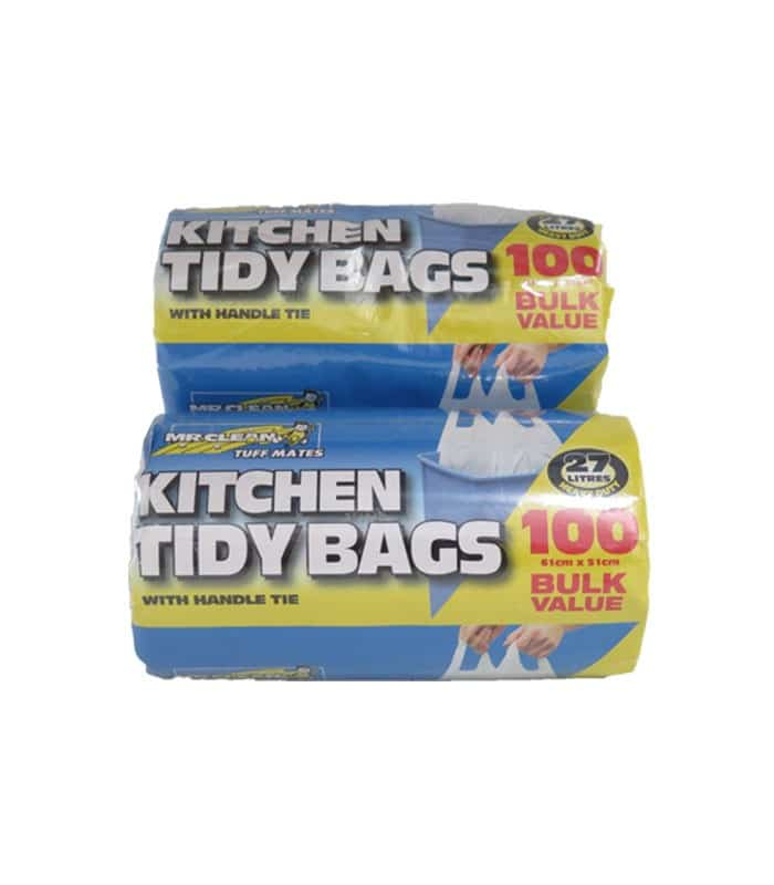 L Kitchen Tidy Bags With Handle Tie