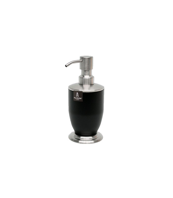 Ml Soap Dispenser Stainless Steel Charcoal Powder Coated