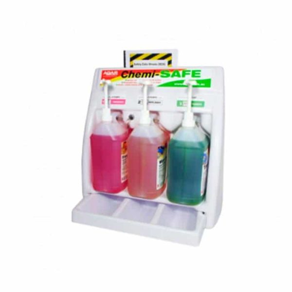 Agar Chemi Safe Bottle Rack And Drip Tray