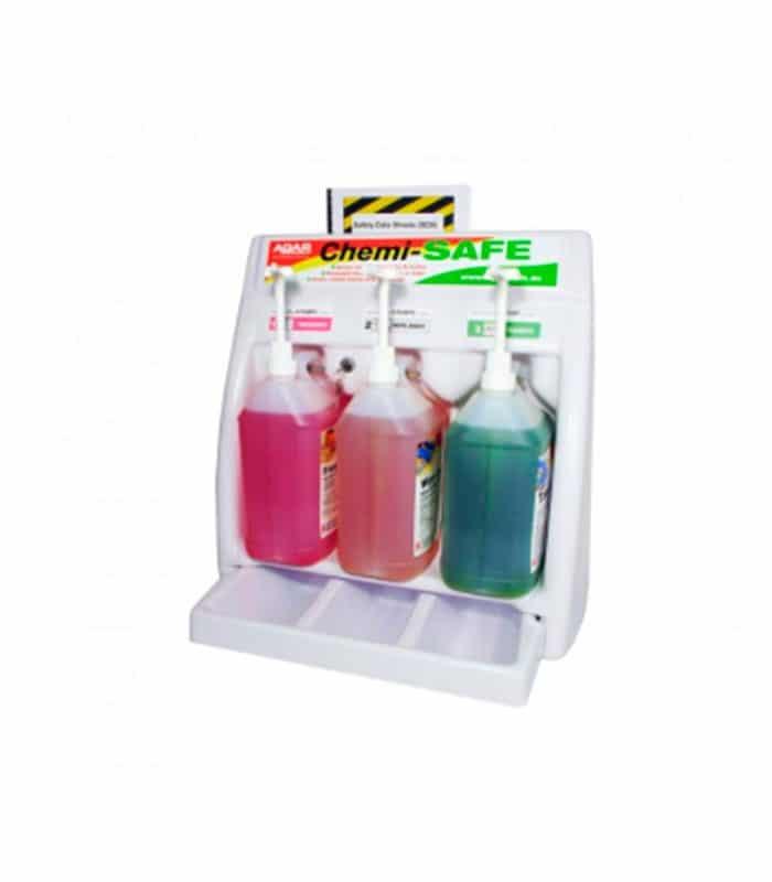 Agar Chemi Safe Bottle Rack And Drip Tray