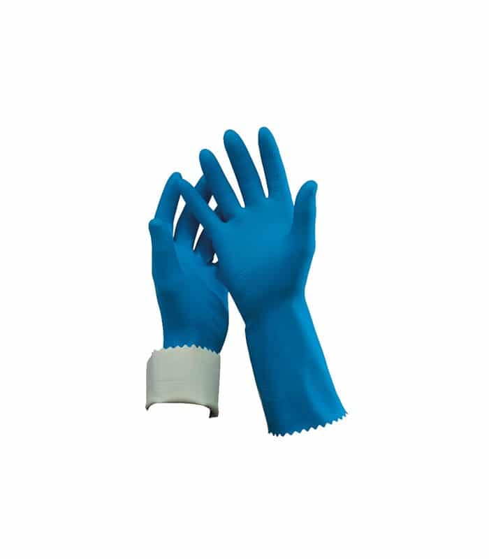 Blue Oates Clean Flock Lined Rubber