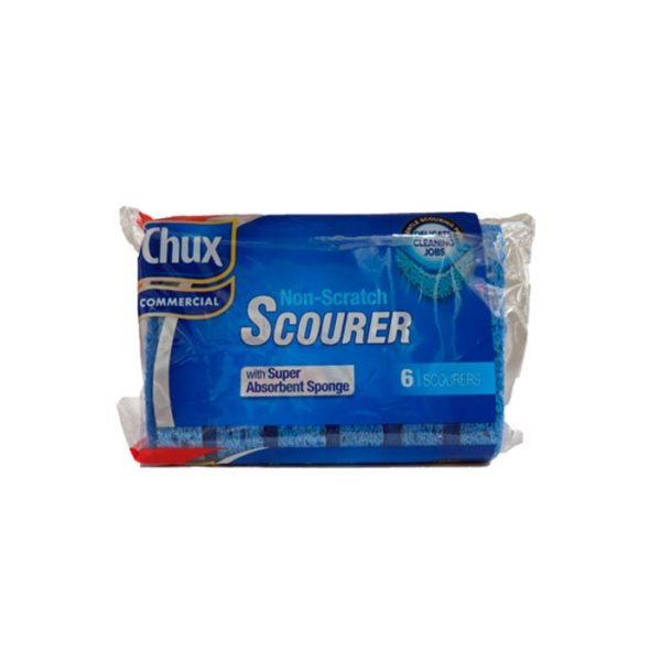 Chux Commercial Non Scratch Scourer  Pack