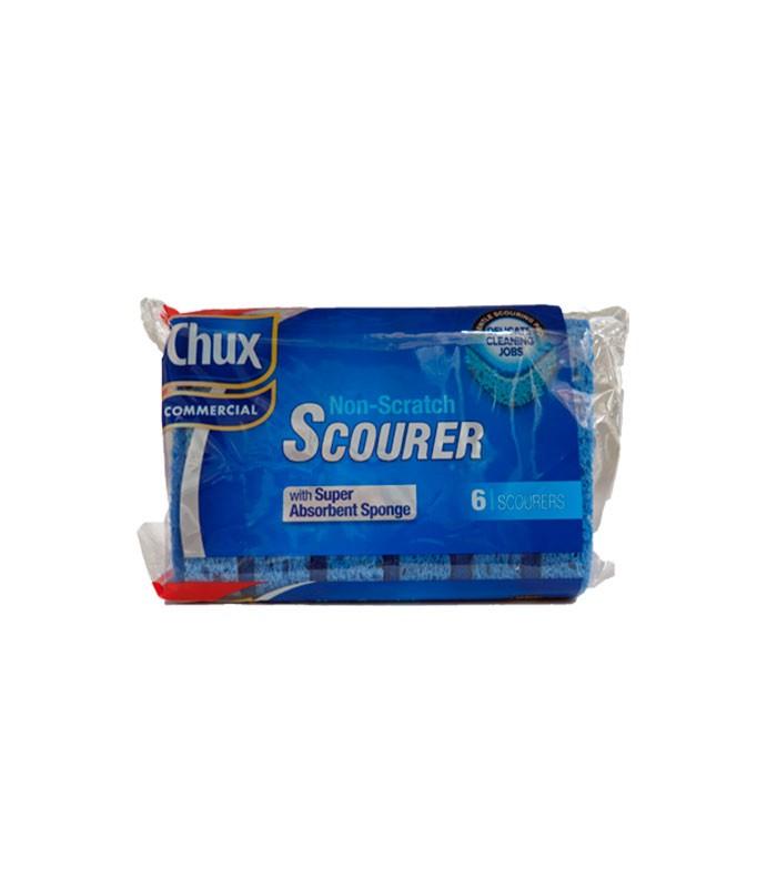 Chux Commercial Non Scratch Scourer  Pack