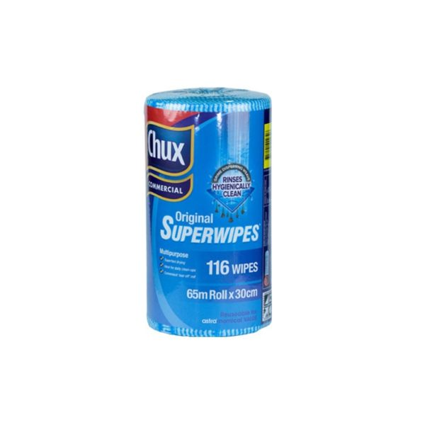 Chux Commercial Original Superwipes Blue