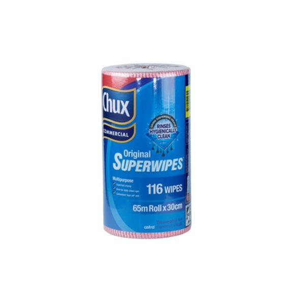 Chux Commercial Original Superwipes Red