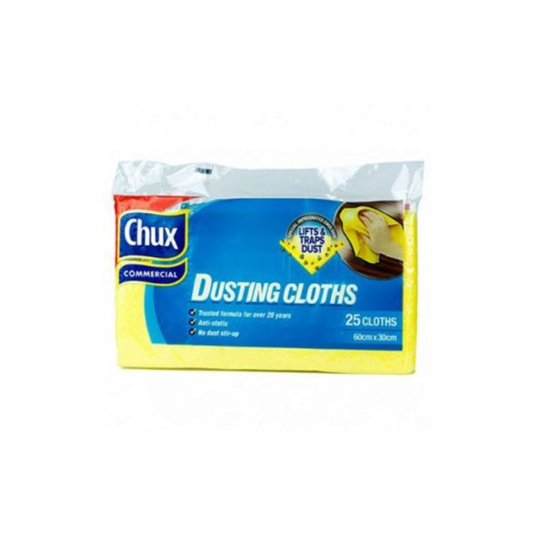 Chux Dusting Cloths Cm X Cm  Pack