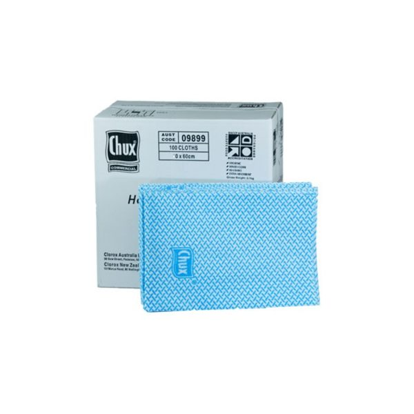 Chux Heavy Duty Blue Superwipes Cloths