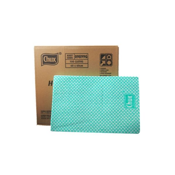 Chux Heavy Duty Wiping Cloths Green