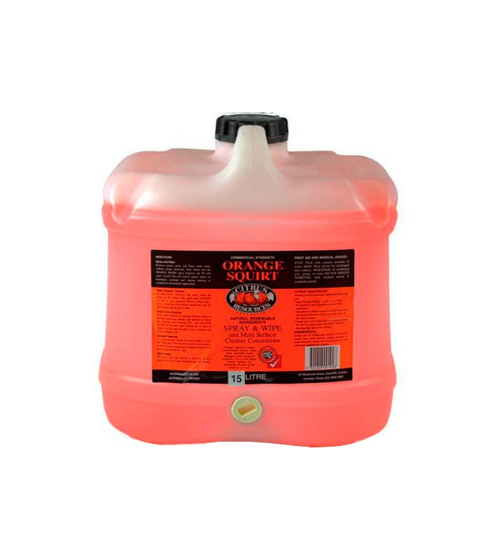 Citrus Resources Orange Squirt Spray Wipe L