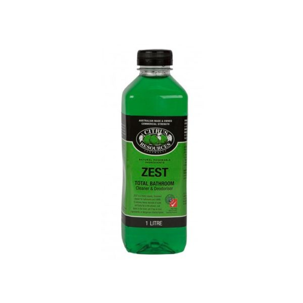 Citrus Resources Zest Bathroom Cleaner Deodoriser L