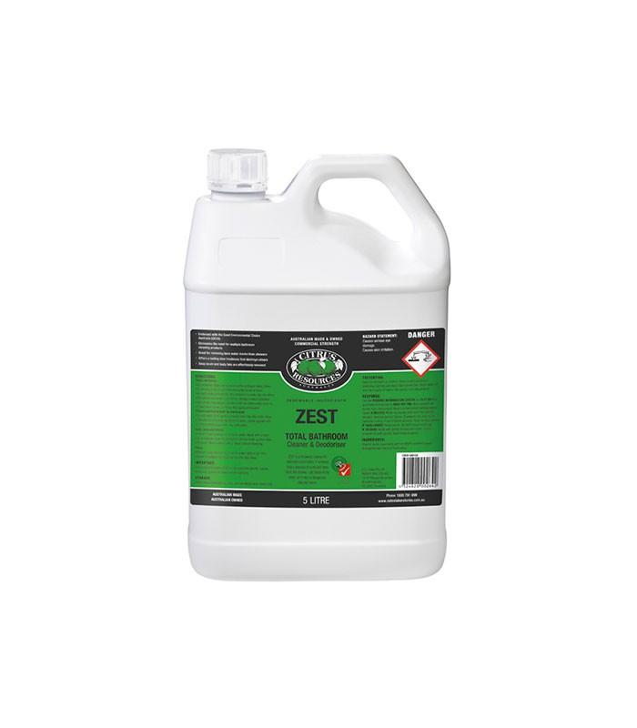 Citrus Resources Zest Bathroom Cleaner Deodoriser L