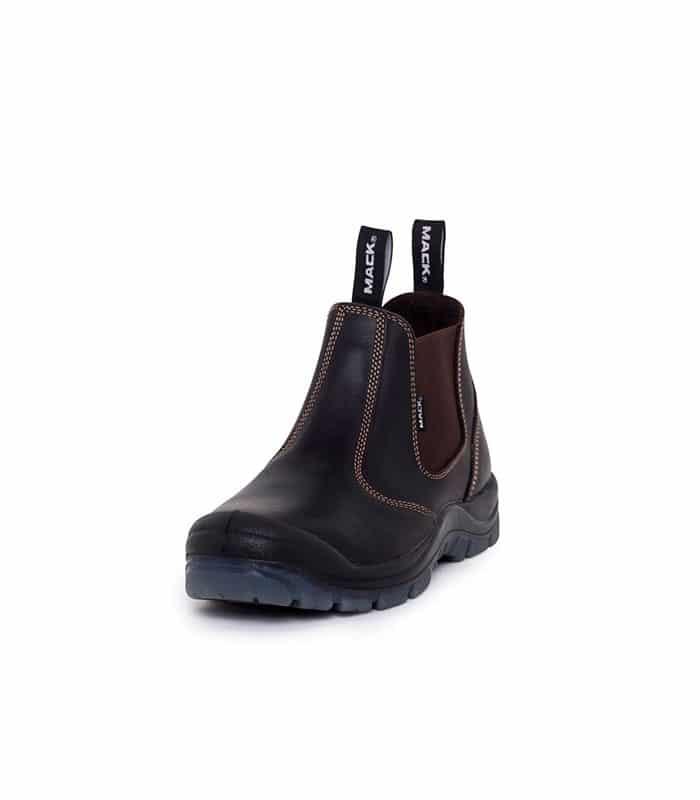 Cougar Safety Elastic Side Boots Black