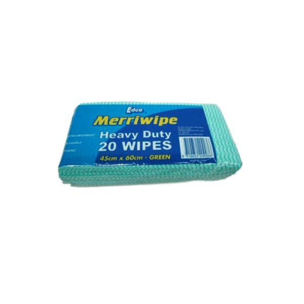 Edco Heavy Duty Wipes X X Cm Green