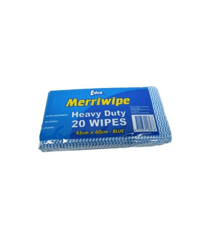 Edco Heavy Duty Wipes X  Blue