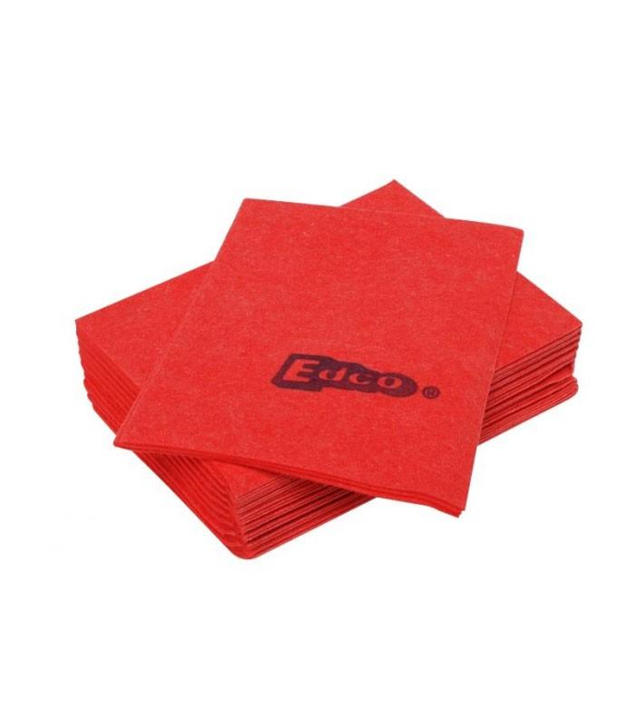 Edco Viscose Cloth  Pack Red