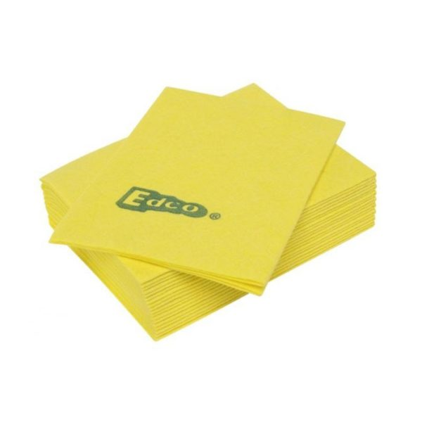 Edco Viscose Cloth Pack Yellow