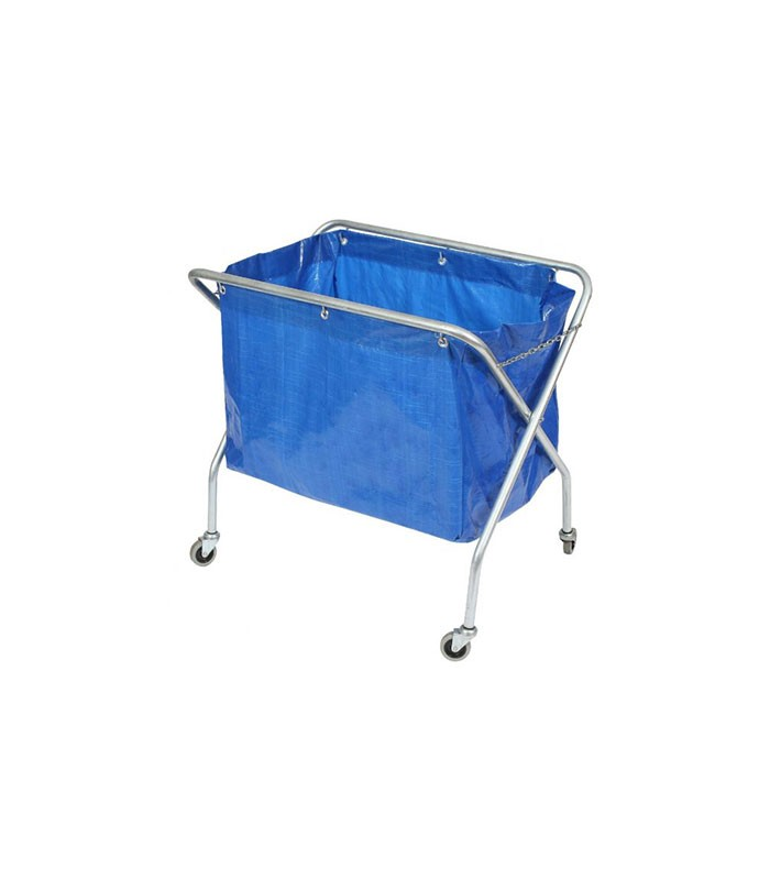 Edco Waste Scissor Trolley Complete With Bag