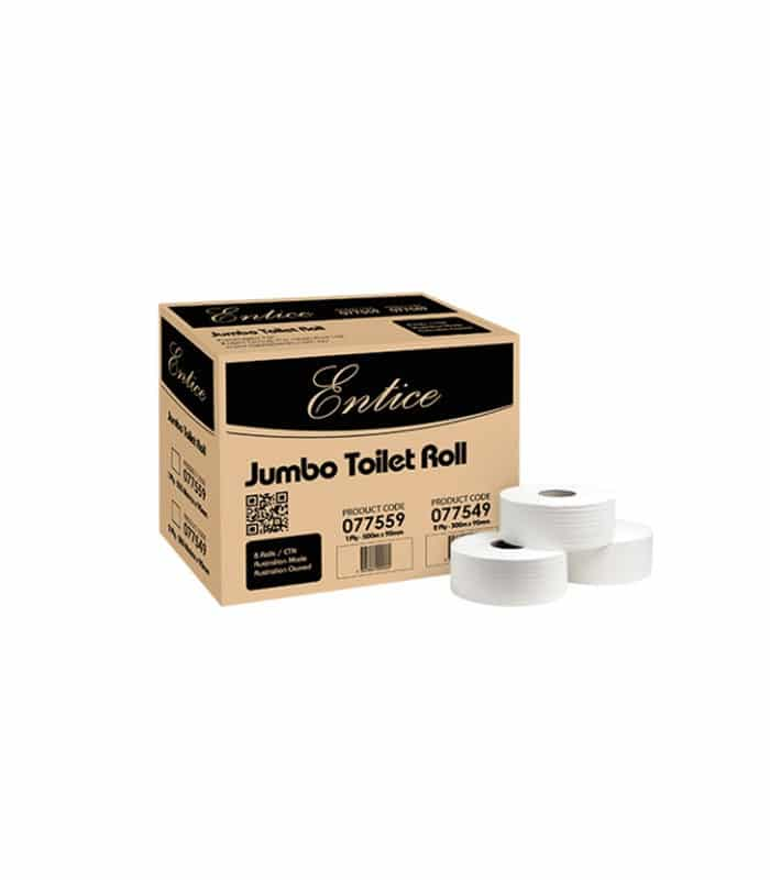 Entice Jumbo Toilet Roll