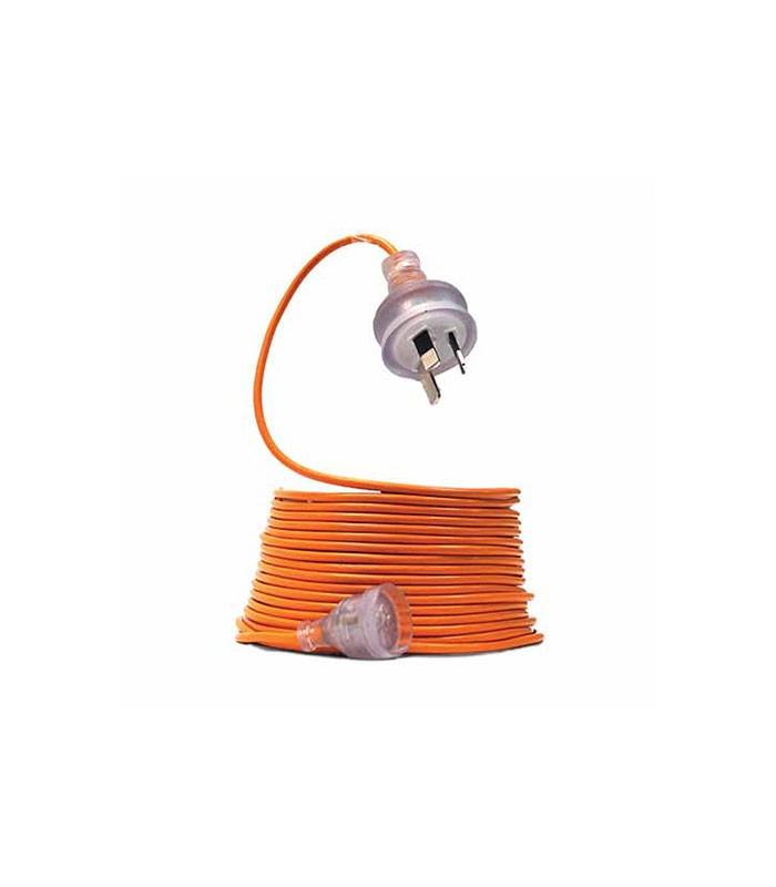 Extension Lead M Amp Orange Rubber  Core Cleanstar