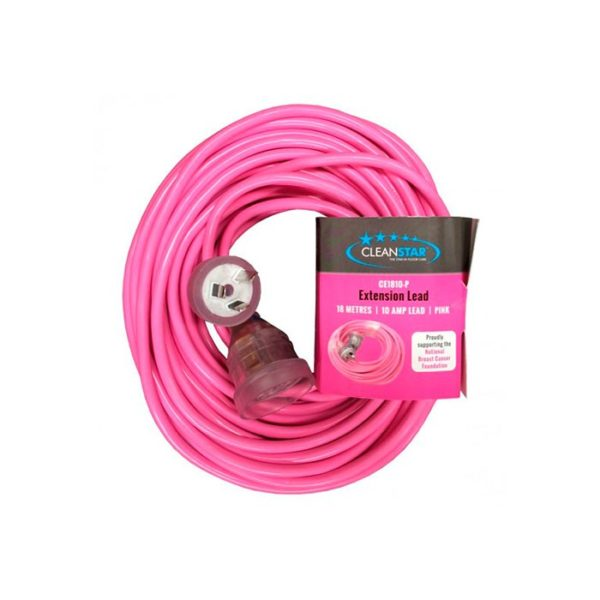Extension Lead Pink M Amp Cleanstar