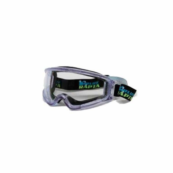 Eye Protection Blue Rapta Goggles Alpha Clear