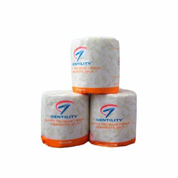 Gentility Ply Premium Toilet Paper